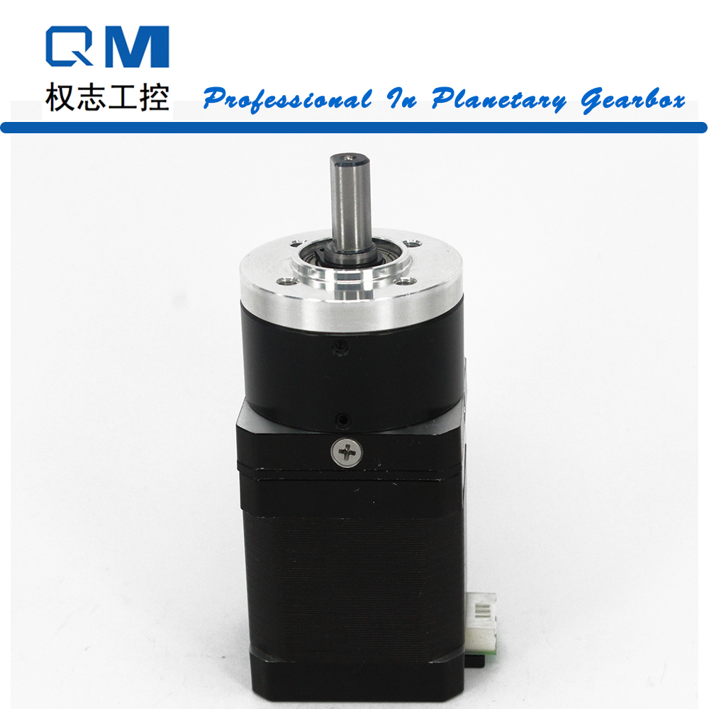 Gear motor planetary reduction gearbox ratio 10:1 nema 17 stepper motor L=48mm cnc robot pump ratio 10 1 gear stepper motor nema34 stepping motor with gearbox 3nm 4a 86byg l66mm shaft 15mm for cnc router new