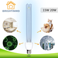 E27 Ultraviolet Lamps Tungsten UV Ozone Sterilization Lamp 220V 15W 20W Disinfection Germicidal Lights Lamp for Home Kitchen