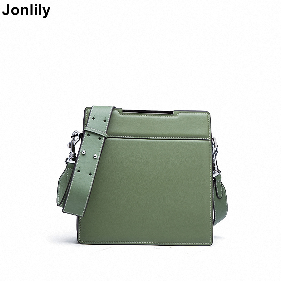 Jonlily Womens Genuine Leather Shoulder Bags Casual Female Crossbody Bags Fashion messenger bags High Quality Purse -KG100Jonlily Womens Genuine Leather Shoulder Bags Casual Female Crossbody Bags Fashion messenger bags High Quality Purse -KG100