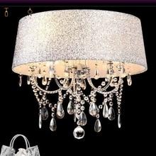 modern crystal led chandelier chandelamp shade luminaire Crystal chandelier