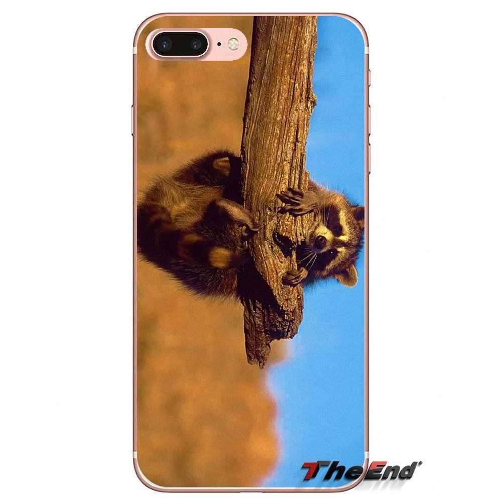 Чехол для мобильного телефона чехол Kawaii для маленьких енотов еноты для спортивной камеры Xiao mi 6 mi 6 A1 Max mi x 2 5X 6X Red mi Примечание 5 5A 4X 4A A4 4 3 Plus Pro