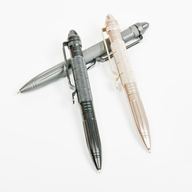 Practical Tactical Pens EDC Aluminum Glass Breaker Self Defense Tactical Survival Pen Multi-function Camping Writing Tool DZB001