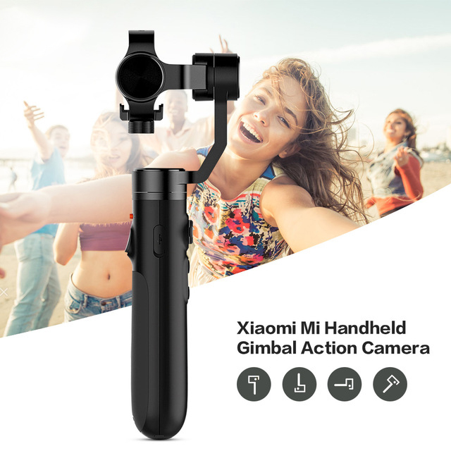 Image 5 - Xiaomi Mijia Handheld Gimbal Action Camera 3 Axis Brushless Gimbals for Xiaomi Mijia Mini Sports Camera VS Feiyu Tech Zhi Yun-in Handheld Gimbal from Consumer Electronics