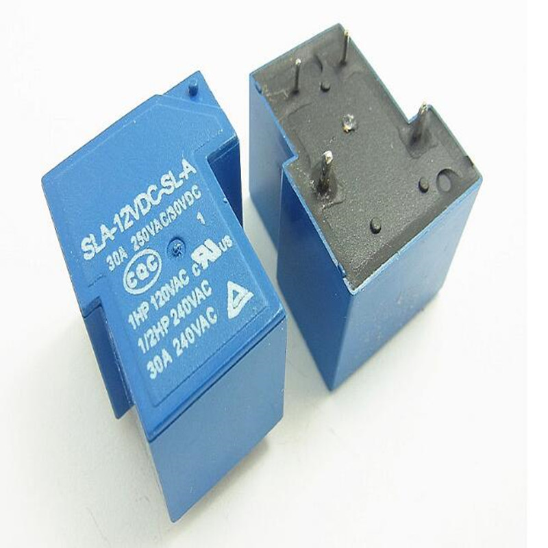 все цены на Free shipping 10pcs/lot SLA-12VDC-SL-A SLA-12VDC 12V 30A 4Pin T90 Power Relay