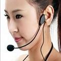 3.5 MM Guía de Conferencia Micrófono Con Cable Auriculares Estudio Discurso Soporte de Altavoz Micrófono De Voz Portátil Amplificador de Auriculares