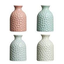 Modern Ceramic Flower Vases Porcelain Vase for Special Occasion Decor 4 Colors