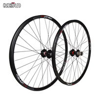 MEIJUN 26 Inch 32 Holes MTB Mountain Bikes Road Bicycles Disc Brake Wheel Hubs Rim Knife