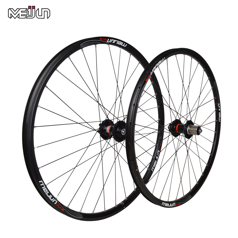 MEIJUN 26 inch 32 Holes MTB Mountain Bikes Road Bicycles Disc Brake Wheel Hubs Rim font