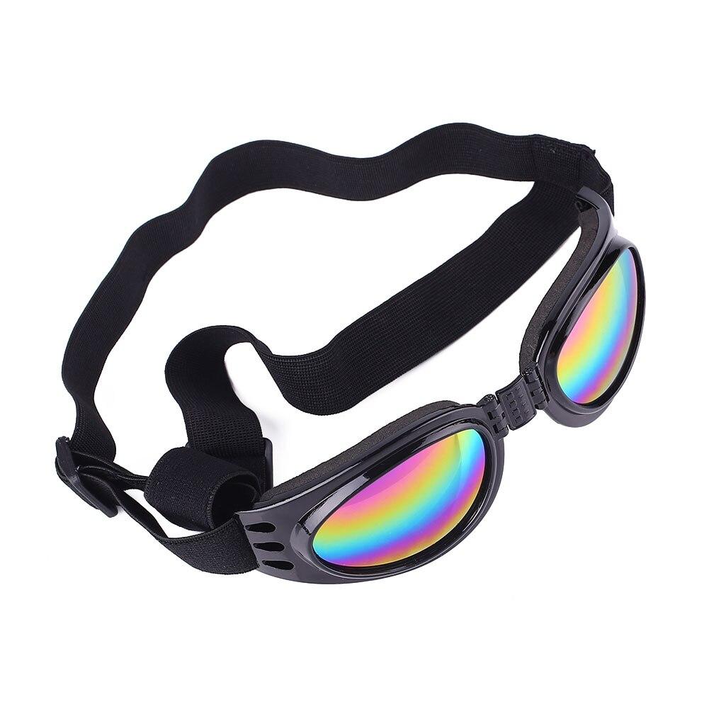 ПЭТ очки для собаки солнцезащитные очки складные эластичные солнцезащитные очки Защита глаз