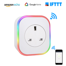 WiFi Smart Plug Wireless Socket Home Electrical Timer Outlet Remote Control  Power Switch via APP Works with Alexa Google Home