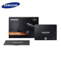100% Original Samsung 860 evo SSD 500GB 1TB 2TB internal Solid State Drives V NAND DDR4 RAM MLC SATA3 For Laptop Desktop MAC