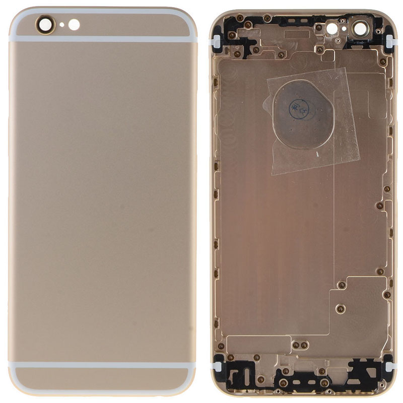 New Parts For iPhone 6 4.7Inch Housing Rear Case Battery Door Cover Case With Logo W0D11 T66