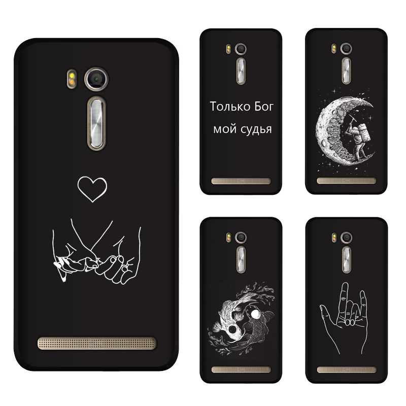 Soft Silicone TPU 5.5inch For <font><b>Asus</b></font> <font><b>Zenfone</b></font> Go ZB552KL Case Cover Painting Matte Phone Cases For <font><b>Asus</b></font> ZB552KL <font><b>X007D</b></font> Funda image