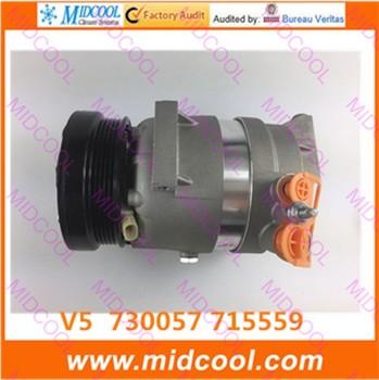 HIGH QUALITY AUTO AC COMPRESSOR V5  FOR 730057 715559