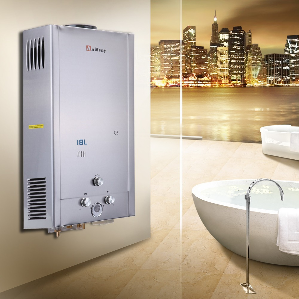 Tankless Hot Water Heater For Showers : Aliexpress buy ship from germany l lcd screen