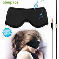 Sleepace sono fones de ouvido, máscara de olho lavável confortável com fone de ouvido embutido para dormir para xiao mi mi jia mi kit casa inteligente