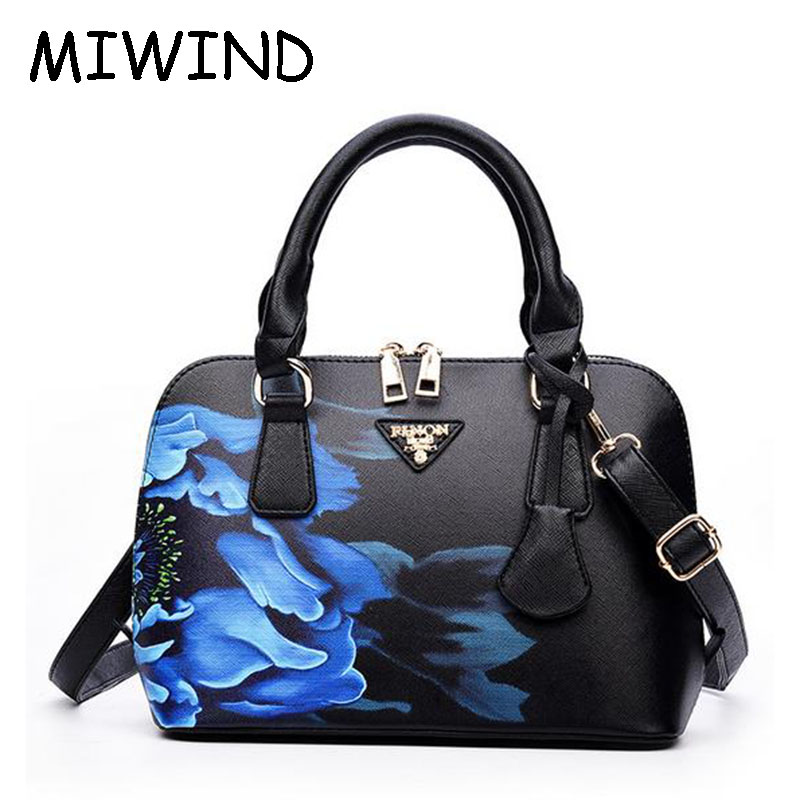 ФОТО Spring Summer Women Blue White Porcelain Handbag Restoring Ancient Ways Ladies Shell Package Shoulder Bags