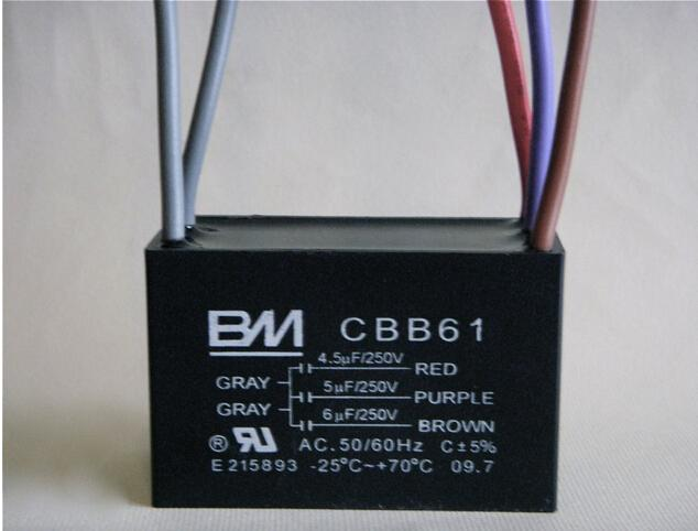 Ceiling Fan Capacitor 5 wire 4.5/5/6 FOR BM 1Z620-in Tool