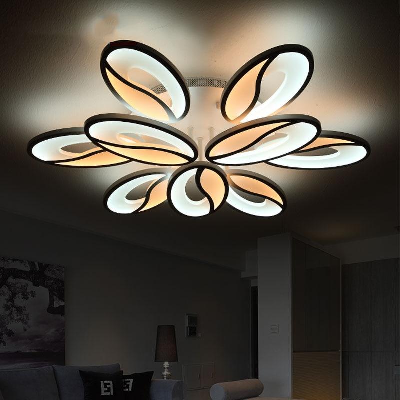 Entzuckend Acryl Moderne Deckenleuchten Für Wohnzimmer Schlafzimmer Weiß Einfache  Plafon Led Deckenleuchte Startseite Leuchten AC85 260V