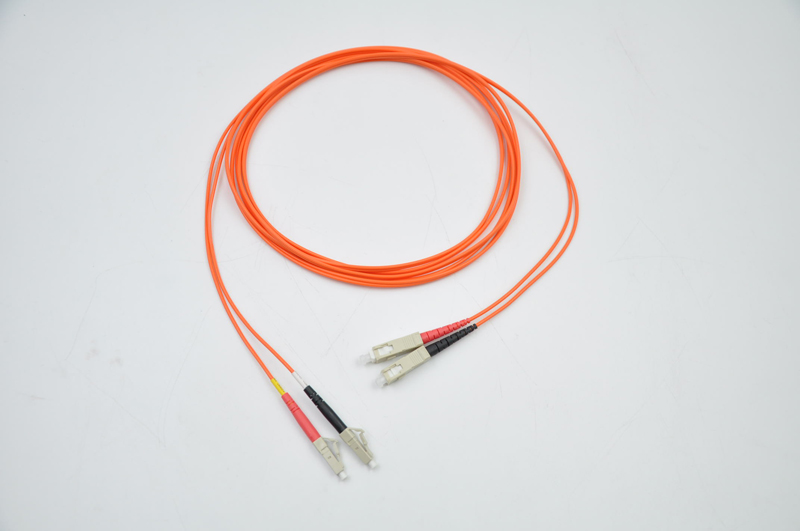 10 Meters LC-SC Fiber Optic Cable MultiMode Duplex Patch Cord OM2 50/125 10M