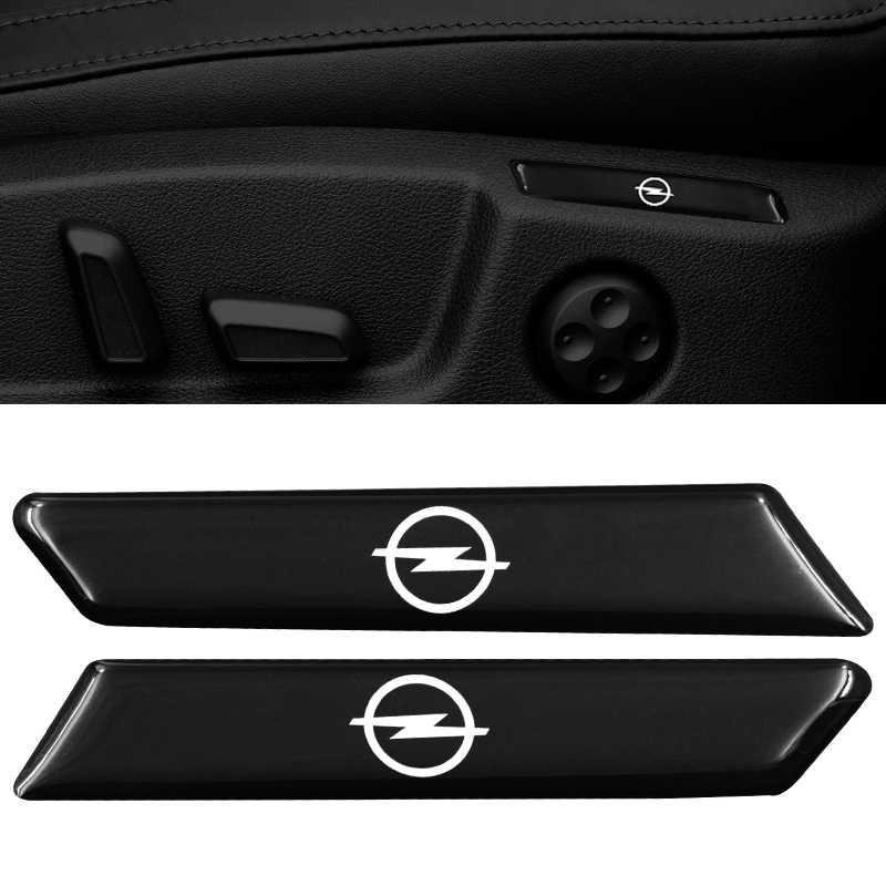 2 pièces Voiture Autocollant Auto Emblème Autocollant Pour Opel Zafira b Astra h g j k f Mokka Corsa b c d Vectra Insignes Moteurs Auto Accessoires