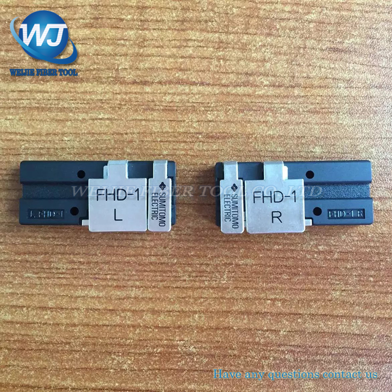 1 pair FTTH Sumitomo TYPE-81C T71C T-81C Z1C Splicer Da Fusão Da Fibra patch cord grampos de arame coberto FHD-1 T-71C titular