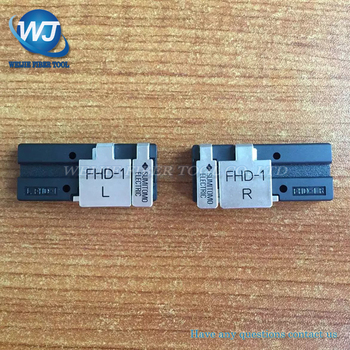 1 par FTTH Sumitomo type-81c t71c t-81c z1c t-71c Fusion splicer remiendo cable cubierto de alambre abrazaderas fhd-1 Fibra titular