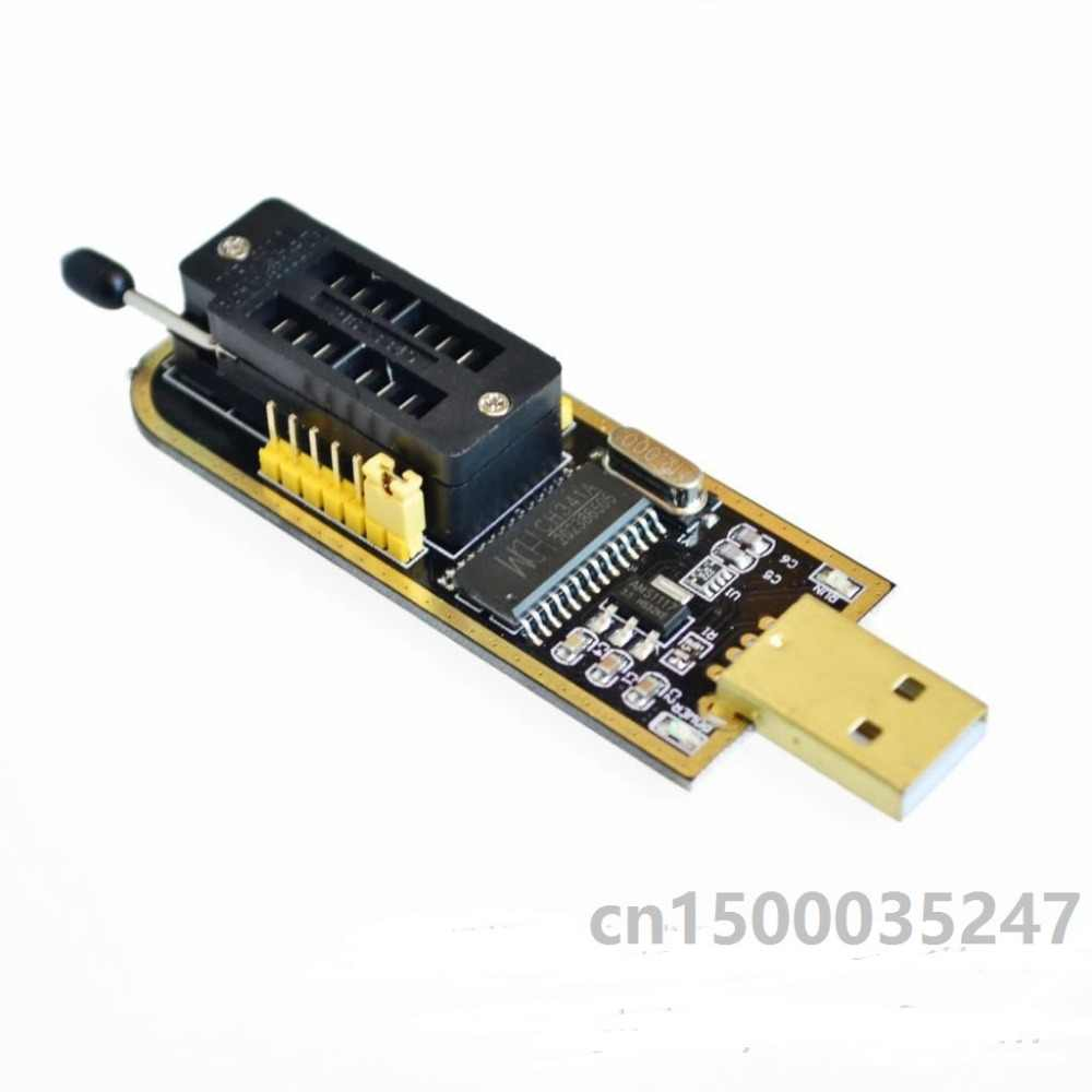 5pcs//lot CH341A Programmer USB Main Board Route LCD BIOS Flash 24 25 Burner for arduino