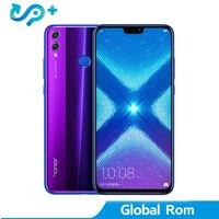 Huawei Honor 8X LTE мобильный телефон Глобальный Встроенная память вариант 6,5