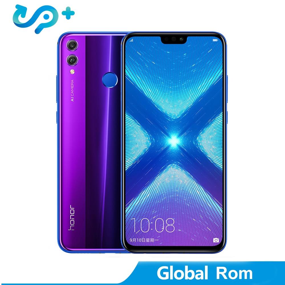 Huawei Honor 8X LTE Mobile Phone Global Rom Option 6.5 FHD Kirin 710 Android 8.1 Dual Back 20MP Camera 3750mAh FingerprintHuawei Honor 8X LTE Mobile Phone Global Rom Option 6.5 FHD Kirin 710 Android 8.1 Dual Back 20MP Camera 3750mAh Fingerprint