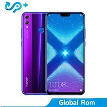 "Huawei Honor 8X LTE Mobile Phone Global Rom Option 6.5 FHD Kirin 710 Android 8.1 Dual Back 20MP Camera 3750mAh Fingerprint"""