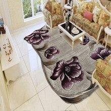 Альпийский цветочный ковер большого размера, современный простой европейский журнальный столик для гостиной, дивана, кабинета, ковер, прикроватное одеяло для спальни