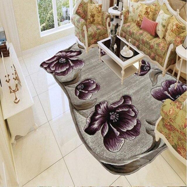 alpine blume teppich große größe moderne einfache europäischen ... - Grose Moderne Wohnzimmer