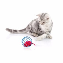 6.5cm Popular Pet Cat toy toys Lovely Kitten Gift Funny Play Toys Mouse Ball for Cats Dogs Play