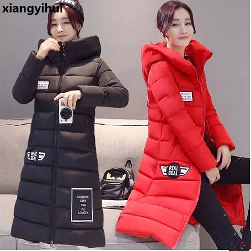 Women Jacket 2017 Autumn Winter New fashion Parkas Padded ladies coats long quilted jackets plus size 3XL outerwear dower me women jacket 2017 autumn winter new fashion parkas padded ladies coats long quilted jackets plus size 3xl 4xl outerwear