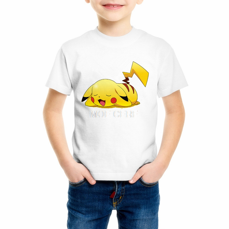Pokemon Clothes Kids Short sleeve T-Shirts 3D Printing Boys/Girl T Shirt Childrens Cartoon T-shirt Top brands C20-18Pokemon Clothes Kids Short sleeve T-Shirts 3D Printing Boys/Girl T Shirt Childrens Cartoon T-shirt Top brands C20-18