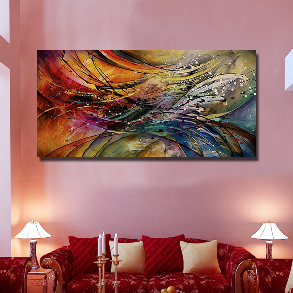 Nice Paintings For Living Room Aliexpresscom Buy Abstract Oil Painting For Living Room Nice