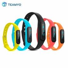 Teamyo u01 спорт смарт браслет фитнес tracker sleep monitor шагомер калорий ip67 жизни водонепроницаемый смарт-браслет