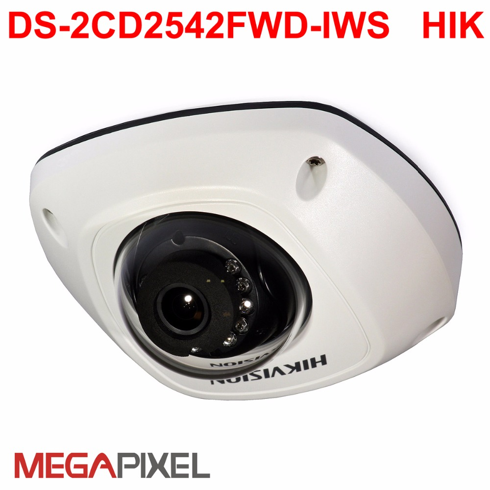 Wifi ip camera DS-2CD2542FWD-IWS  POE Audio alarm cctv Video surveillance iVMS-4500,USA firmware IPC Camcorder Network camera 8mp ip camera cctv video surveillance security poe ds 2cd2085fwd is audio for hikvision dahua dvr hik connect ivm4200 camcorder