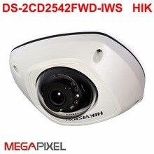 Wifi ip camera DS-2CD2542FWD-IWS  POE Audio alarm cctv Video surveillance iVMS-4500,USA firmware IPC Camcorder Network camera