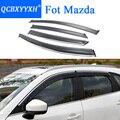 Чехол для автомобиля QCBXYYXH  тенты для стайлинга автомобиля  козырьки для окна  защита от дождя и бровей  чехол для Mazda 2  3  6  8  CX-5  Atenza  Axela