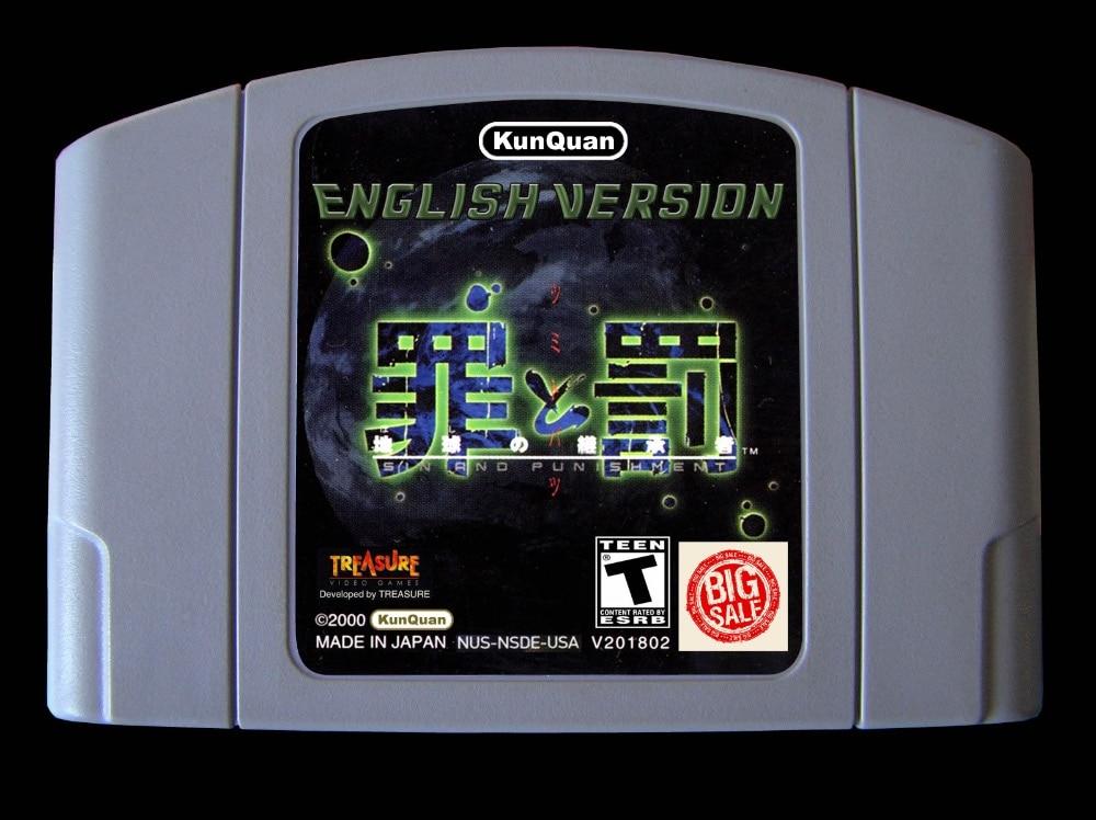 64bit game ** SIN & PUNISHMENT - Successor of the Earth ( USA Version!! English translation!! )