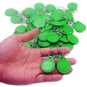 10Pcs key tag ID Card Token Tags Key  RFID Proximity ID Smart card Entry Access Card Tag rfid 125KHZ for Access Control System 10pcs rfid keytags 13 56 mhz rfid key fobs keychains nfc tags iso14443a mf classic