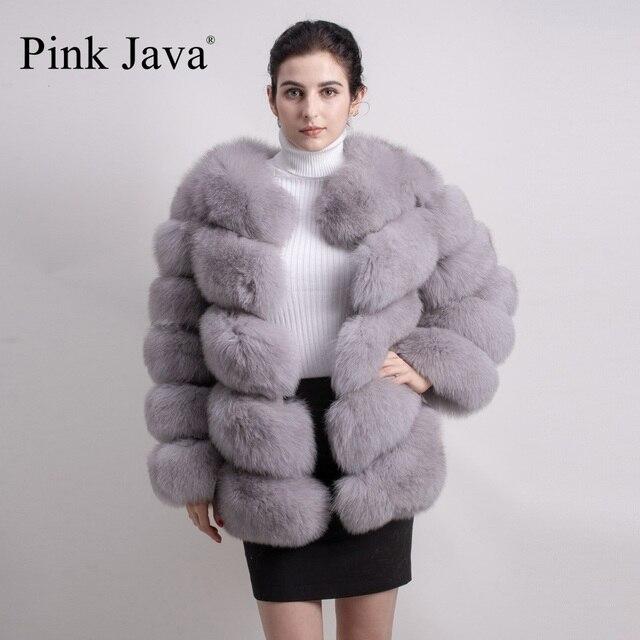 Mantel mit pelz an den armeln