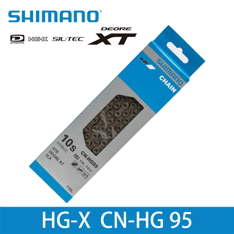 fits XTR XT SAINT SLX Deore 116 links Shimano Deore XT CN-HG95 Chain 10 speed