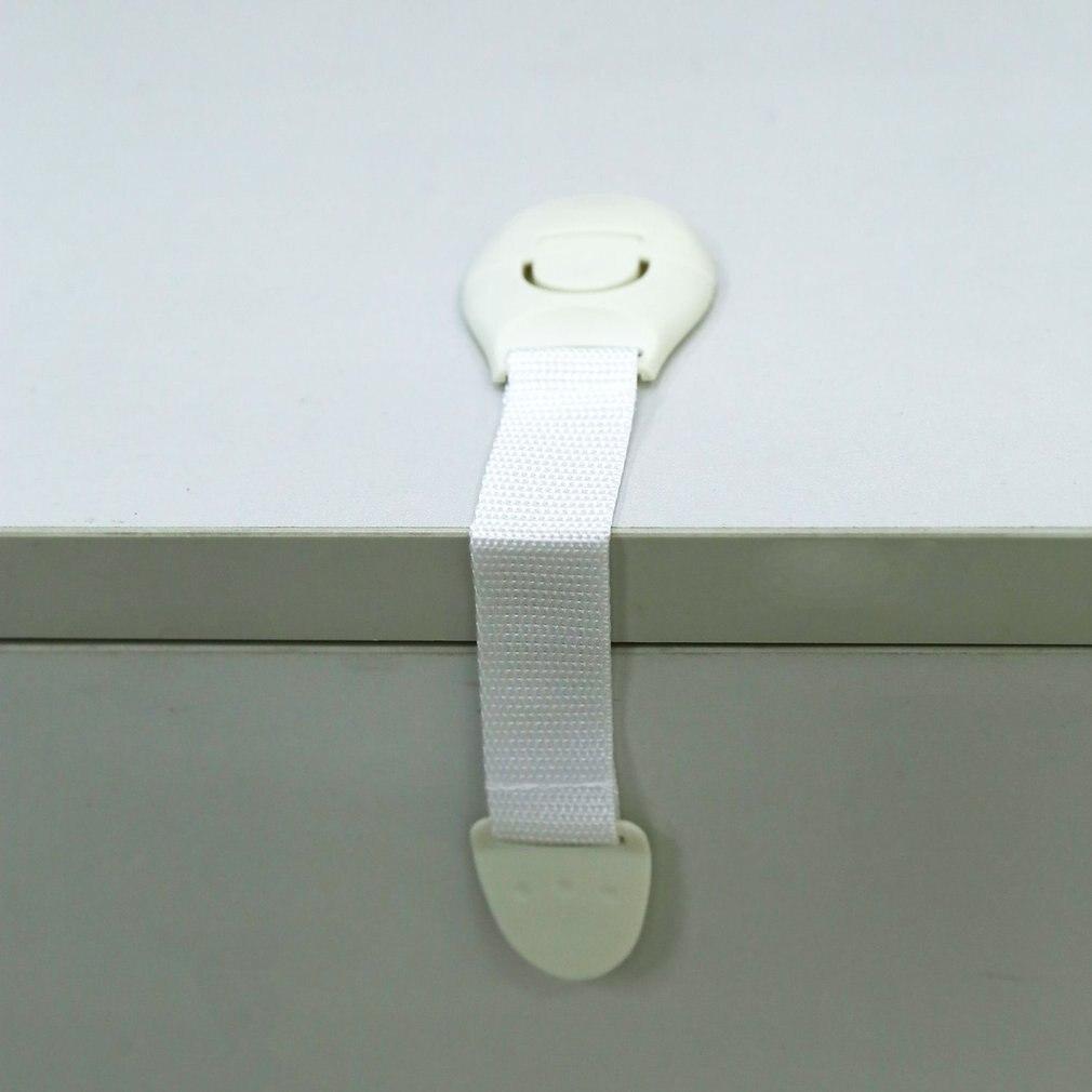 Одежда для малышей Детская безопасность блокировка дети ящик шкаф холодильников замок двери шкафа Пластик кабинет Замки 1 шт. ...