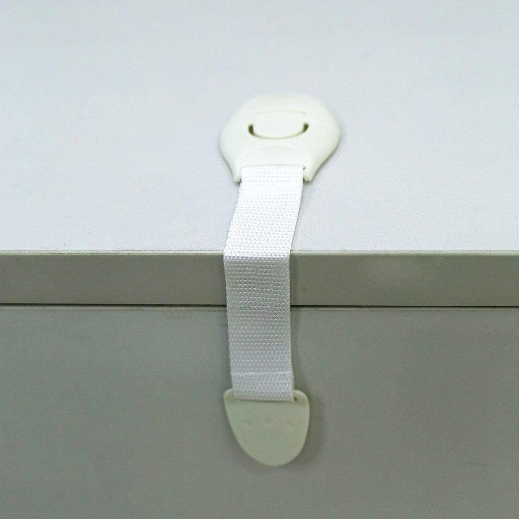 Toddler Baby Safety Lock Kids Drawer Cupboard Fridge Cabinet Door Lock Plastic Cabinet Locks 1 Pc ...
