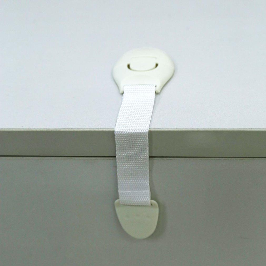 Toddler Baby Safety Lock Kids Drawer Cupboard Fridge Cabinet Door Lock Plastic Cabinet L ...