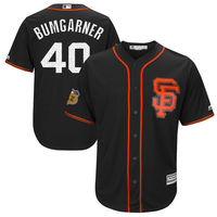 MLB Men S San Francisco Giants Madison Bumgarner Baseball Black 2017 Spring Training Cool Base Player