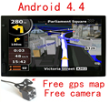 android car gps navigation 7 inch wifi gps navigator tablet GPS Navigator WIFI  bluetooth Camera  HD